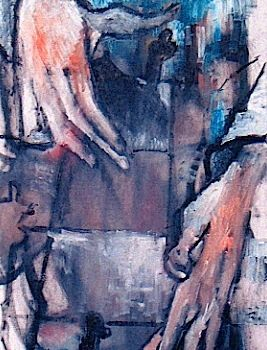 """Painting titled """"Chess"""" by Simon Taylor, Original Art,"""
