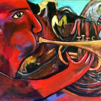 """Painting titled """"out of the shadow"""" by Simon Taylor, Original Art, Other"""