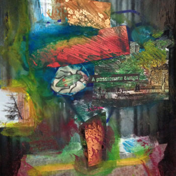 """Collages titled """"Watch and Learn"""" by Stefano Zago, Original Art, Collages"""