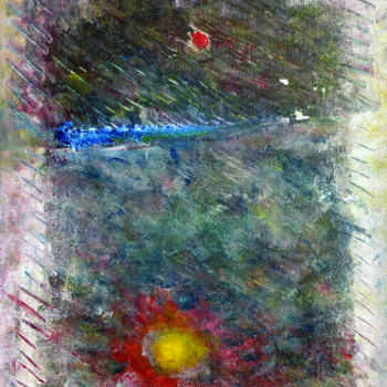 Painting, oil, abstract, artwork by Stefano Zago