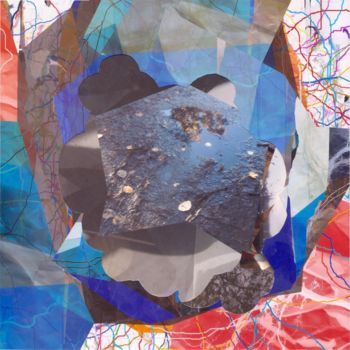 Collages, collages, abstract, artwork by Stefan Fransson