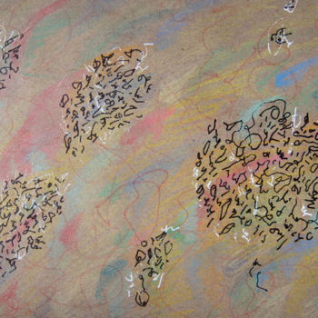 Abstract Drawing, marker, calligraphy, artwork by Lina Stern