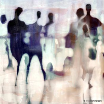"""Printmaking titled """"URBAN BLUR VII by S…"""" by Sven Pfrommer, Original Art, Analog Print"""