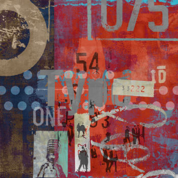 """Printmaking titled """"TYPE ART II by Sven…"""" by Sven Pfrommer, Original Art, Analog Print"""