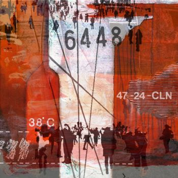 """Printmaking titled """"URBAN TYPE I by Sve…"""" by Sven Pfrommer, Original Art, Analog Print"""