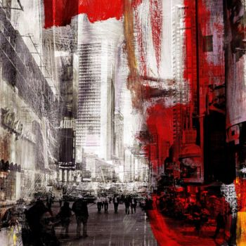 """Printmaking titled """"NEWYORK COLOR XXIX…"""" by Sven Pfrommer, Original Art, Analog Print"""