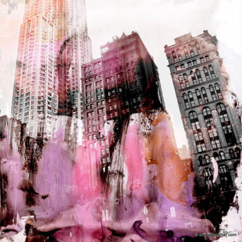"""Printmaking titled """"NEW YORK COLOR I by…"""" by Sven Pfrommer, Original Art, Analog Print"""
