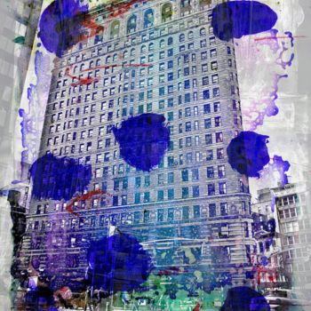 """Printmaking titled """"NEWYORK COLOR IV by…"""" by Sven Pfrommer, Original Art, Analog Print"""