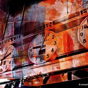 """Printmaking titled """"NEWYORK COLOR XXII…"""" by Sven Pfrommer, Original Art, Analog Print"""