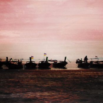 """Printmaking titled """"OCEAN ELEVEN XII by…"""" by Sven Pfrommer, Original Art, Analog Print"""