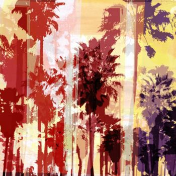 """Printmaking titled """"VENICE BEACH III by…"""" by Sven Pfrommer, Original Art, Analog Print"""