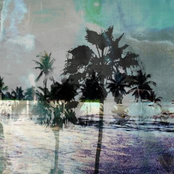 """Printmaking titled """"THE BEACH VIII by S…"""" by Sven Pfrommer, Original Art, Analog Print"""