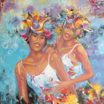Painting, oil, figurative, artwork by Sylvia Fuet