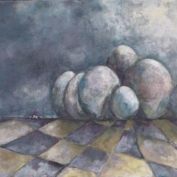 Painting, artwork by Sylviane Le Boulch