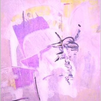 """Painting titled """"Orchid 06"""" by Delphine Bernard, Original Art,"""