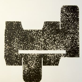 """Collages titled """"Recycled Nr. 8"""" by Teodor Isfan, Original Art, Collages"""