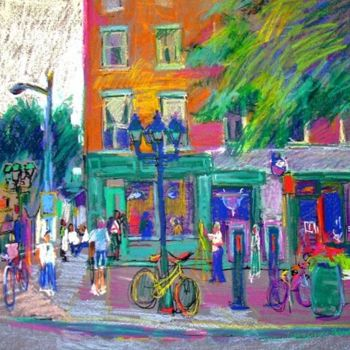 """Painting titled """"Claire's"""" by Don Bourret, Original Art, Oil"""