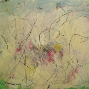 Painting, oil, abstract, artwork by Thomas Pierce Mudd