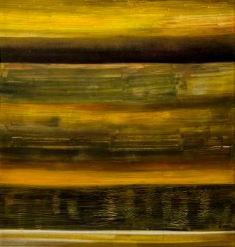 """Painting titled """"THE WARMTH LAYERS"""" by Thushara A., Original Art, Oil"""