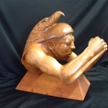 """Sculpture titled """"Spirit of the Cycli…"""" by Diane Tremaine, Original Art,"""