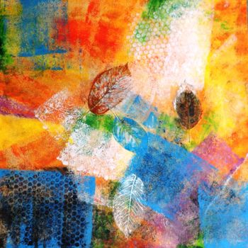 Painting, oil, abstract, artwork by Katerina Evgenieva