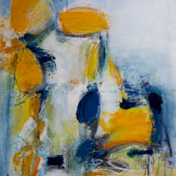 Painting, acrylic, abstract, artwork by Véronique Besançon
