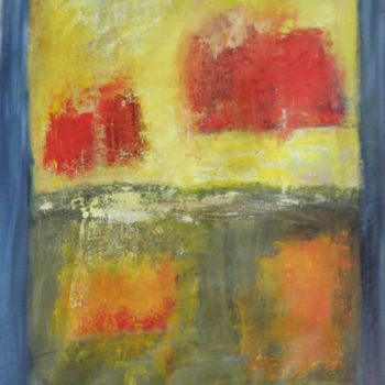 Painting, oil, abstract, artwork by Véronique Besançon