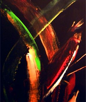 """Painting titled """"In"""" by Vcasey, Original Art,"""