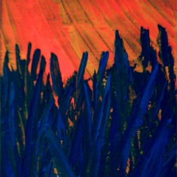 """Painting titled """"sungrass"""" by Vcasey, Original Art,"""