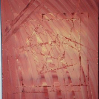 """Painting titled """"pyramids"""" by Vcasey, Original Art, Oil"""