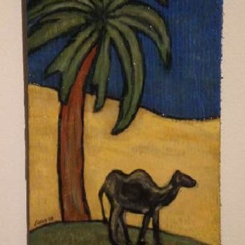 """Painting titled """"camel"""" by Vcasey, Original Art,"""
