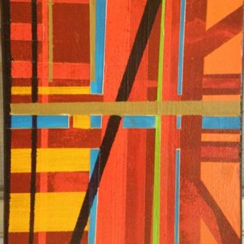 """Painting titled """"abstraction"""" by Vcasey, Original Art,"""