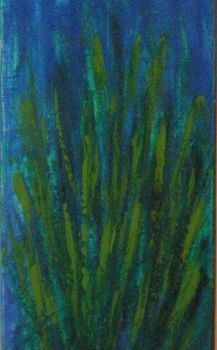 """Painting titled """"chrome grass"""" by Vcasey, Original Art,"""
