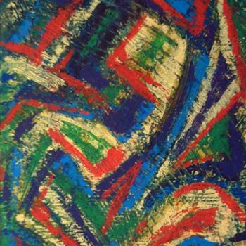 """Painting titled """"Dos"""" by Vcasey, Original Art,"""
