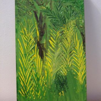 """Painting titled """"jungle"""" by Vcasey, Original Art,"""