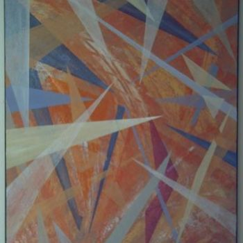 """Painting titled """"copper cathedral"""" by Vcasey, Original Art,"""