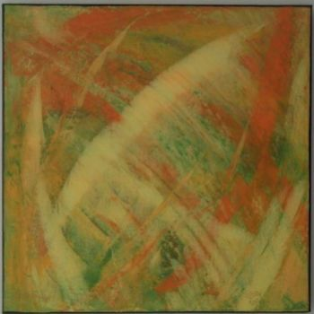 """Painting titled """"firefall"""" by Vcasey, Original Art,"""