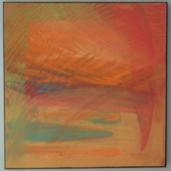"""Painting titled """"redsparrow"""" by Vcasey, Original Art,"""