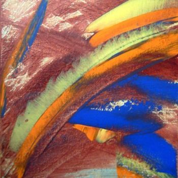 """Painting titled """"zap"""" by Vcasey, Original Art,"""