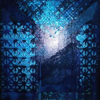 """Painting titled """"blueguy"""" by Vcasey, Original Art,"""