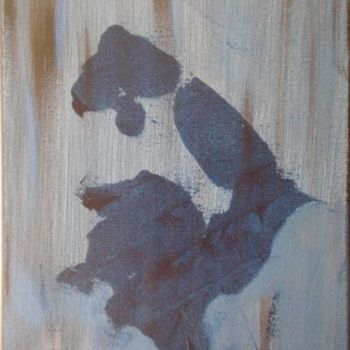"""Painting titled """"blue arm"""" by Vcasey, Original Art,"""