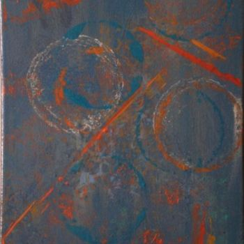 """Painting titled """"Cross Road"""" by Vcasey, Original Art,"""