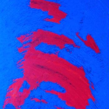 """Painting titled """"FLASH"""" by Vcasey, Original Art,"""