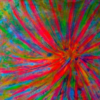 """Painting titled """"Cosmos"""" by Vcasey, Original Art, Oil"""