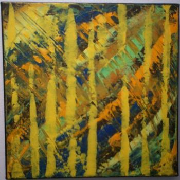 """Painting titled """"retro"""" by Vcasey, Original Art,"""