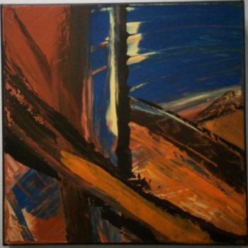 """Painting titled """"untitled 106"""" by Vcasey, Original Art,"""