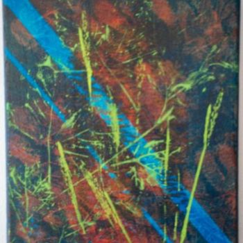 """Painting titled """"lockout"""" by Vcasey, Original Art,"""