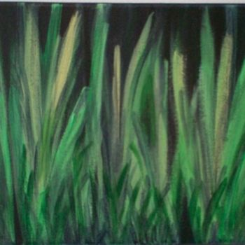 """Painting titled """"magic grass"""" by Vcasey, Original Art,"""