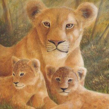 Painting, oil, artwork by Victoria Armstrong