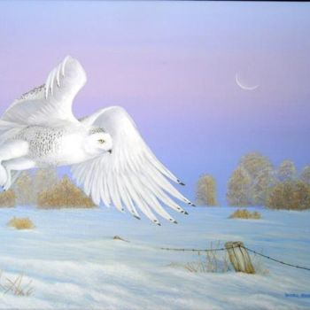 """Painting titled """"Dawn Splendor"""" by Victoria Armstrong, Original Art, Oil"""